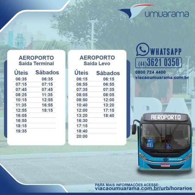 PR: Viação Umuarama anuncia alterações em horários de ônibus a partir desta sexta - revistadoonibus