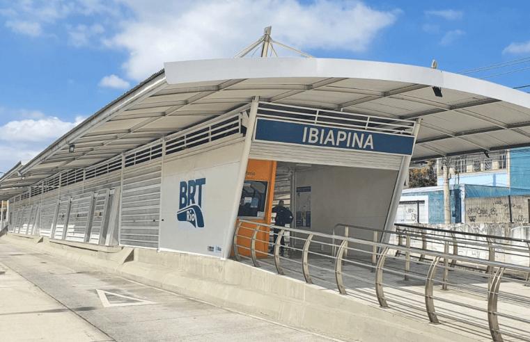 BRT Rio reabre a estação Ibiapina no corredor Transcarioca