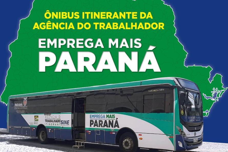 PR: Ônibus Emprega Mais vai atender Campina Grande do Sul e São José dos Pinhais