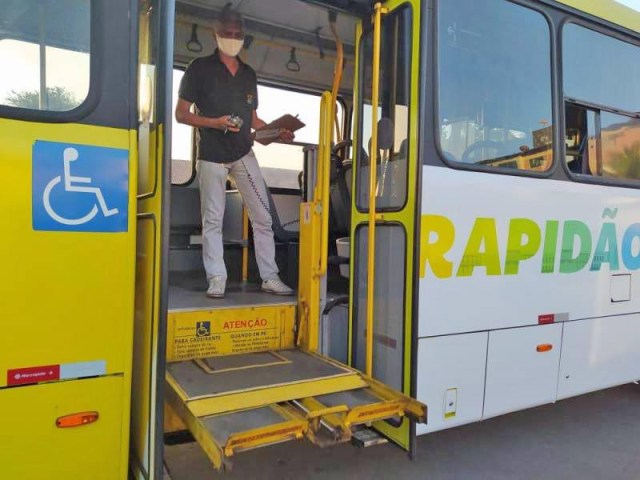 São Luís segue com fiscalização nos ônibus municipais - revistadoonibus