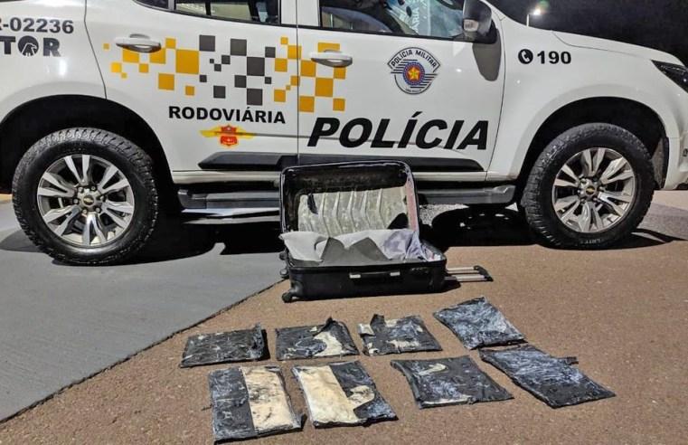 SP: Boliviana é presa transportando entorpecentes em ônibus da Andorinha na Rodovia Raposo Tavares