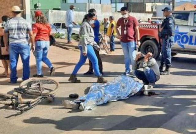 PA: Ciclista acaba morrendo atropelado por ônibus em Parauapebas - revistadoonibus