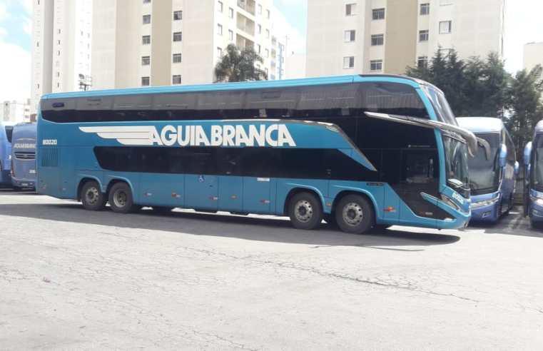 São Paulo: Viação Aguia Branca recebe o primeiro Paradiso G8 1800 DD – Vídeo