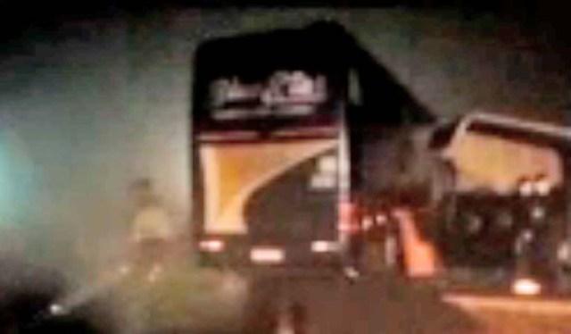 Cascavel: Acidente entre caminhão e ônibus deixa o fluxo lento na rodovia PR-180 - revistadoonibus
