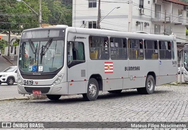 SC: Rodoviários de Blumenau realizam paralisação nesta manhã - revistadoonibus