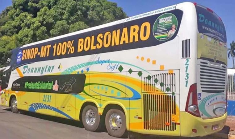 Excursão em apoio a manifestação no 7 de setembro já possui ônibus em vários estados