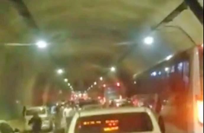 Vídeo: Arrastão e tiroteio no Túnel Marcelo Alencar gera pânico no Rio de Janeiro