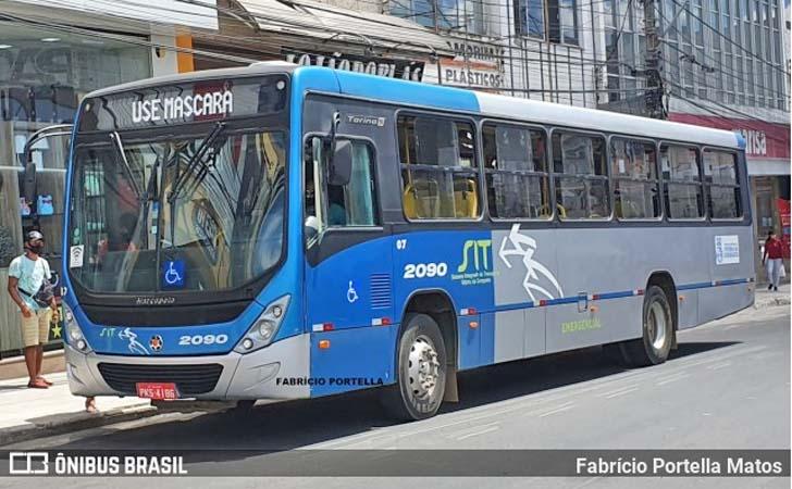 BA: Passageiro é detido após se masturbar dentro de ônibus em Vitória da Conquista