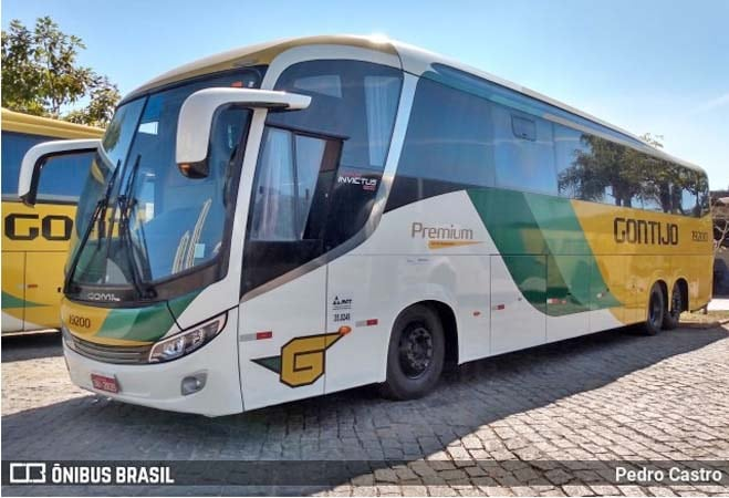 MG: Gontijo restaura ônibus Comil que sofreu acidente na Fernão Dias em maio