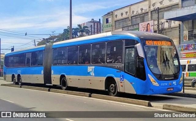 Vídeo: Ônibus do BRT se envolve em acidente na Zona Norte do Rio - revistadoonibus