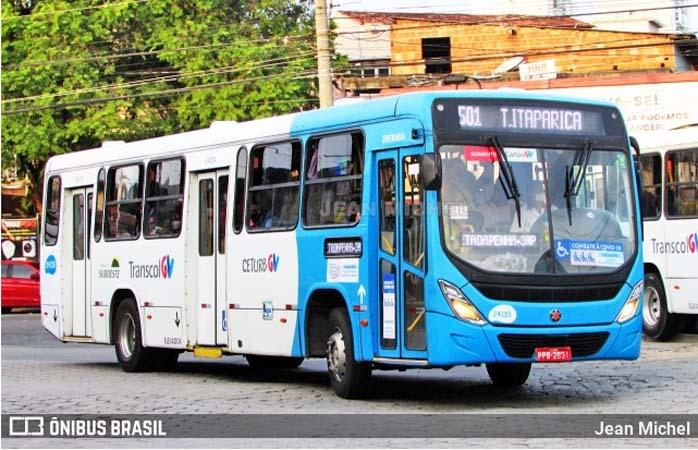 ES: Homem é preso por importunação sexual em ônibus do Transcol em Vila Velha
