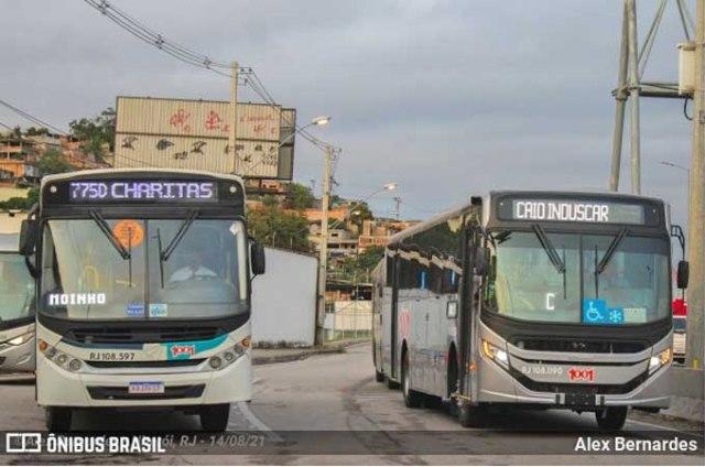 RJ: Auto Viação 1001 recebe lote de ônibus urbano da Caio - revistadoonibus