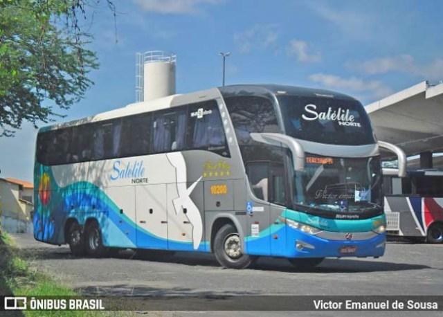 Expresso Satélite Norte inicia a venda de 8 ônibus Paradiso G7 1600LD - revistadoonibus