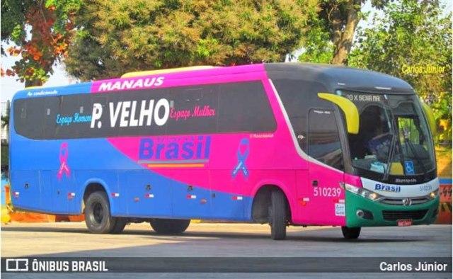 Manaus: Ônibus da TransBrasil sofre acidente na Zona Sul - Vídeo - revistadoonibus