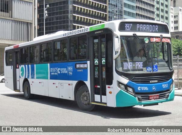 Vídeo: Ônibus da Transportes Campo Grande pega fogo na Avenida Brasil - revistadoonibus