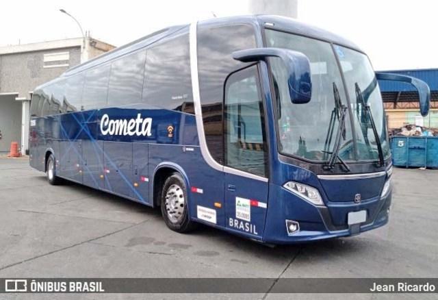 Viação Cometa deve escalar novos ônibus Busscar 360 em trechos interestaduais - revistadoonibus