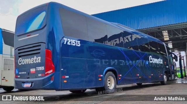 Viação Cometa escala novo ônibus Busscar no trecho São Paulo x Curitiba x São Paulo - revistadoonibus