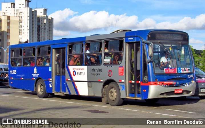 SP: EMTU reforça frota e aumenta 74 viagens na região do ABC, Cotia e Taboão da Serra