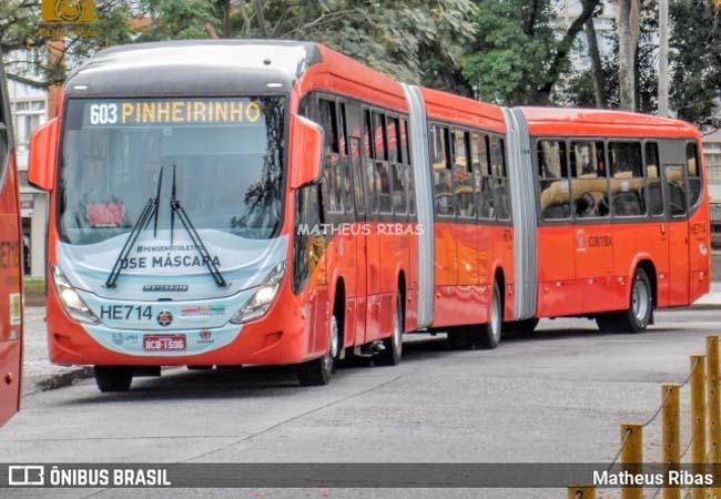 Curitiba: Ônibus biarticulado atropela dois jovens e uma criança no Pinheirinho