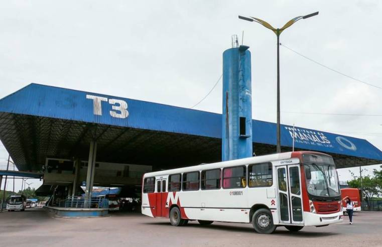 Manaus: Polícia prende dupla que assaltava ônibus no Terminal de Integração 3