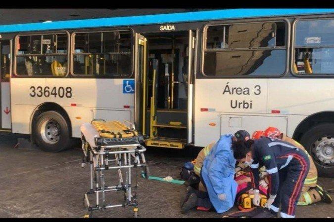 Brasília: Ônibus da Urbi atropelada idosa na Rodoviária do Plano Piloto