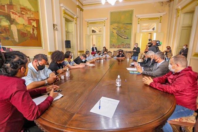 Porto Alegre: Prefeitura recebe funcionários da Carris em mais nova rodada de diálogo