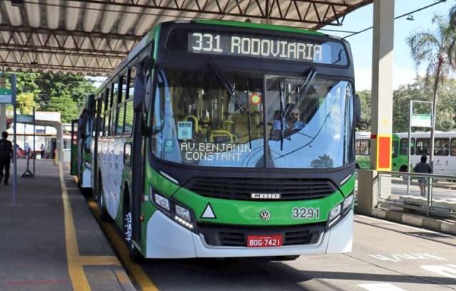 SP: Campinas otimiza itinerário da linha 331 - Terminal Barão Geraldo - revistadoonibus