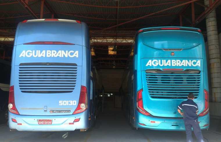São Paulo: Aguia Branca altera números de prefixos dos novos ônibus Paradiso G8 DD