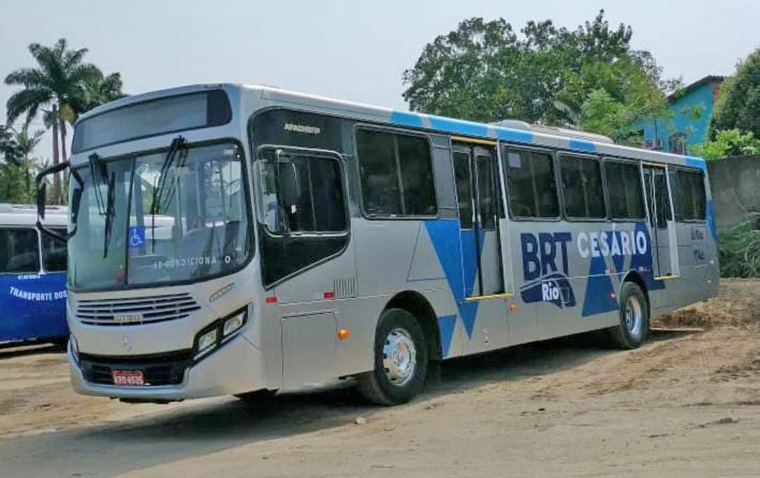 Rio: Surge imagem de ônibus convencional para o BRT Cesário