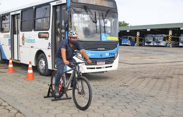 Manaus: Prefeitura leva 'Mobilidade com Responsabilidade' a empresa de ônibus