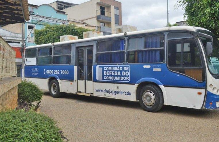 RJ: Ônibus do Consumidor da Alerj atende em Volta Redonda nesta semana