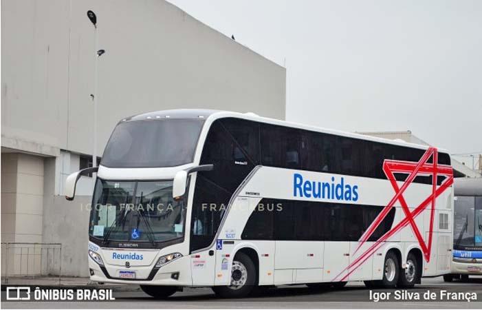 SP: Reunidas Paulista renova com oito ônibus Busscar DD e anuncia desfile da nova frota