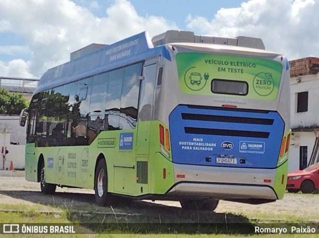 Salvador inicia testes com ônibus elétricos nesta terça-feira - revistadoonibus