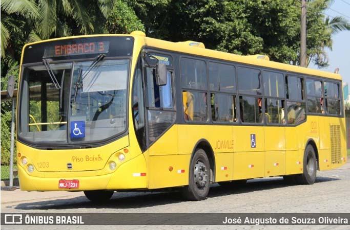 SC: Prefeitura de Joinville aumenta para 70% a ocupação dos ônibus