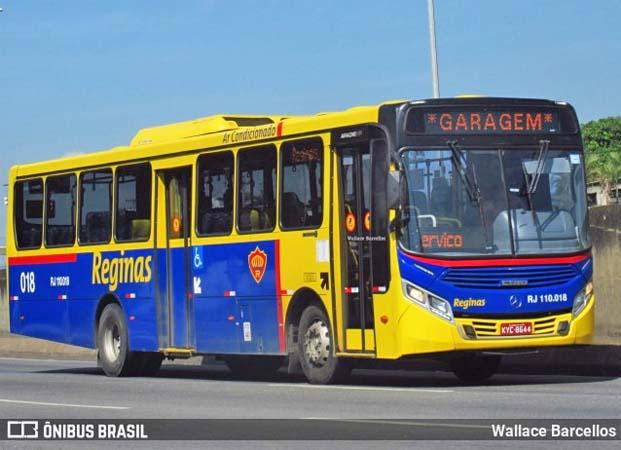 Rio: Passageiro da Auto Viação Reginas é morto em assalto na Avenida Brasil