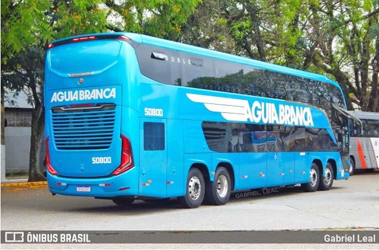 Vídeo: Após análise, Marcopolo testa ônibus Paradiso G8 da Viação Aguia Branca que apresentaram problemas