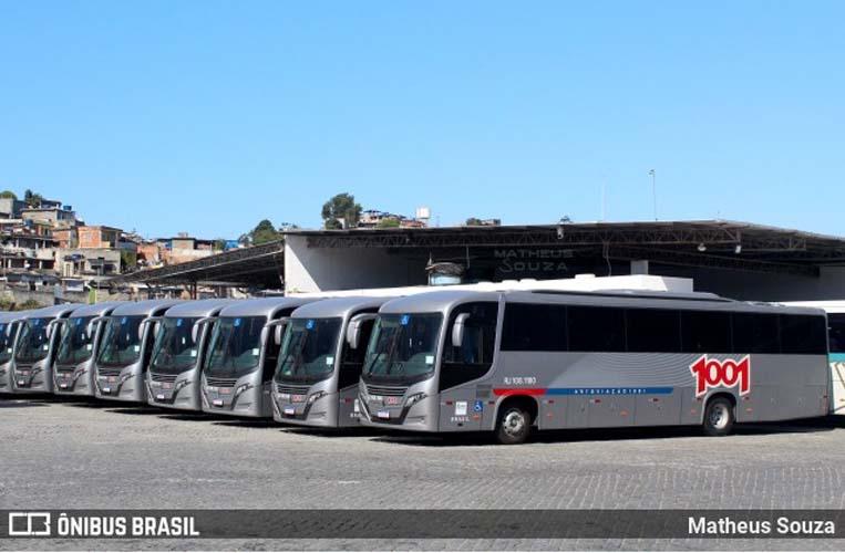 Auto Viação 1001 disponibilizará Busscar El Buss 320 com motor dianteiro em linhas que ligam Niterói ao Rio de Janeiro