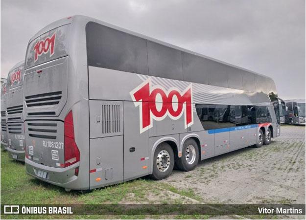 Auto Viação 1001 recebe dez novos ônibus Busscar Vissta Buss DD 8x2 Scania - revistadoonibus