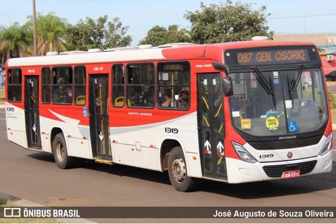 Vídeo: Homem se masturba dentro de ônibus em movimento em Campo Grande