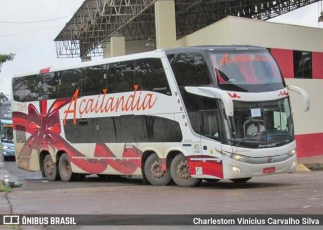 Vídeo: Ônibus da Viação Açailândia tomba na BR-222 deixando 8 feridos em Córrego Novo/MA - revistadoonibus