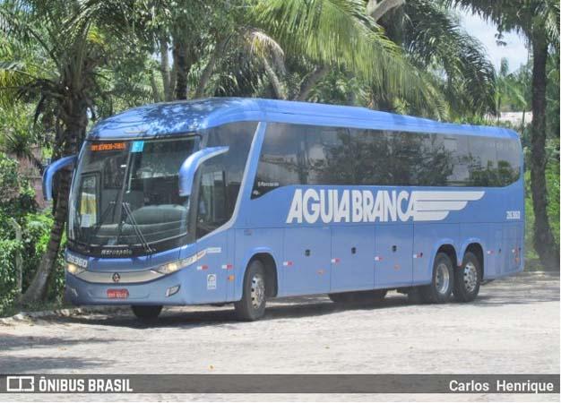 BA: Ação policial frusta assalto a ônibus a Viação Aguia Branca na BR-101