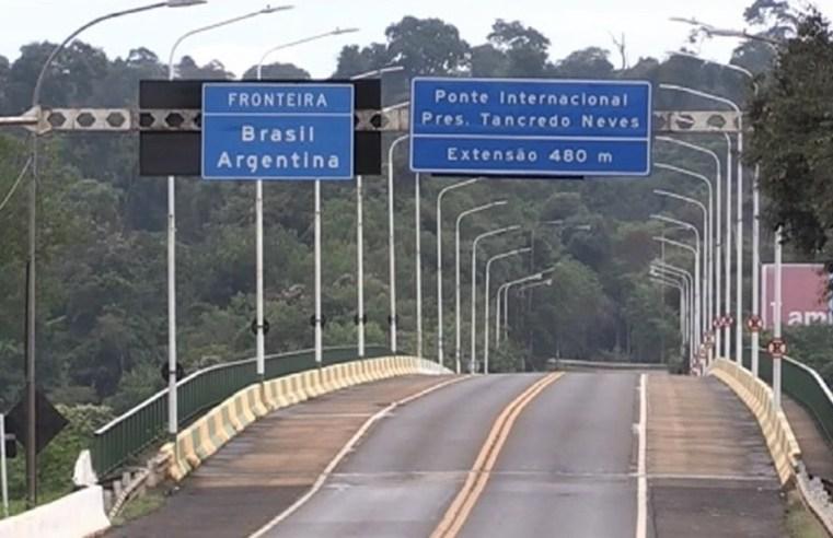 Argentina reabre fronteira com Brasil pela Ponte Tancredo Neves, em Foz do Iguaçu