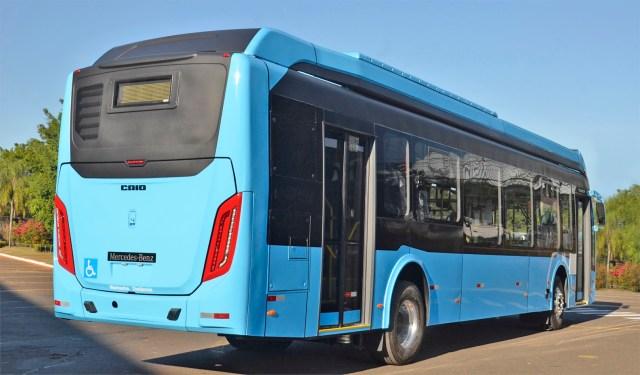 Caio disponibiliza ônibus elétrico em parceria com a Mercedes-Benz - revistadoonibus