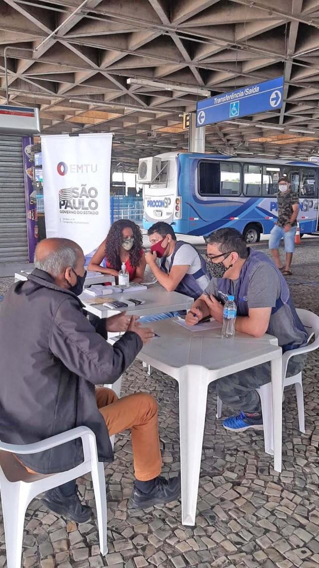 São Paulo: Procon móvel atenderá passageiros do Terminal Jabaquara da EMTU - revistadoonibus