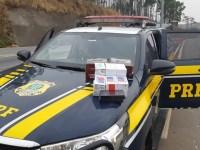 MG: PRF apreende eletrônicos avaliados em R$ 40 mil em ônibus na BR-381 em Três Corações - revistadoonibus