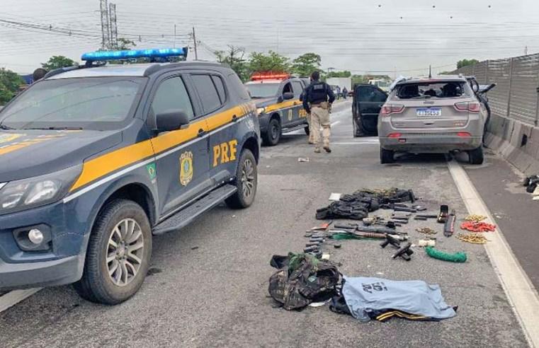 Rio: Perseguição policial fecha Via Dutra em Jardim América nesta manhã