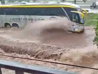 MG: Chuva em Uberlândia que atingiu a cidade no último domingo ainda gera transtornos - revistadoonibus