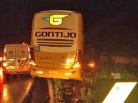 MG: Ônibus da Gontijo se envolve em acidente na cidade de Caeté - revistadoonibus