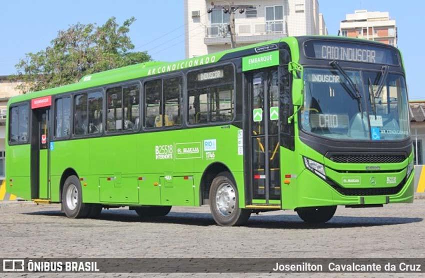 Rio: Rodoviária Âncora Matias renova com Caio Apache Vip V Mercedes-Benz