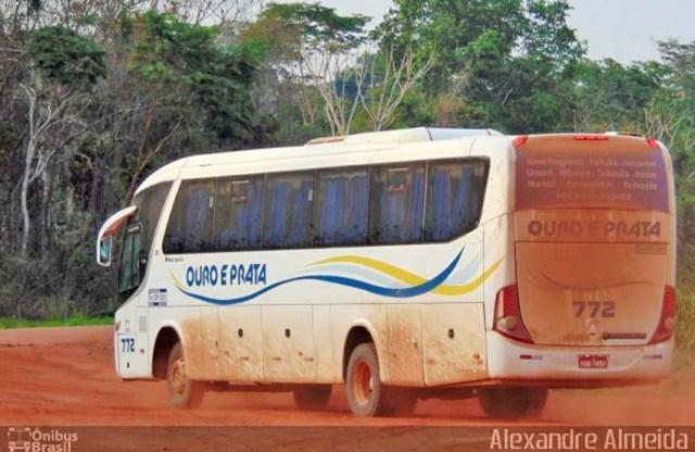 Vídeo: Ônibus da Ouro e Prata pega fogo na BR-230 no interior do Pará - revistadoonibus